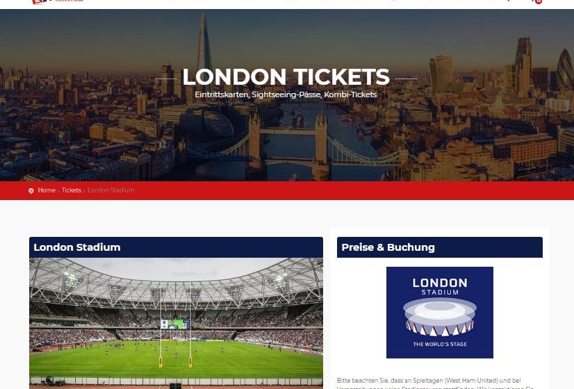 London-Kurztrip.de Screenshot