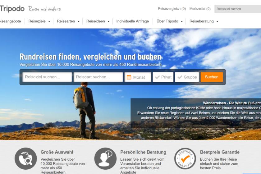 Tripodo.de Screenshot