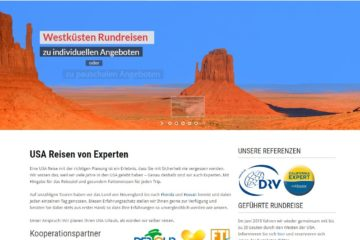 USA Reise Experte Screenshot