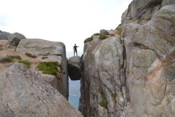 Reisen nach Kjerag, Norwegen