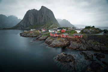 Reisen nach Norwegen