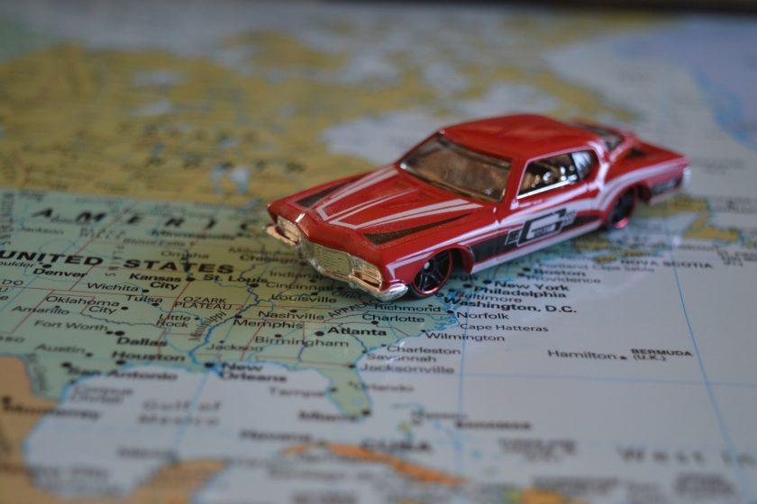 Reisen durch die USA